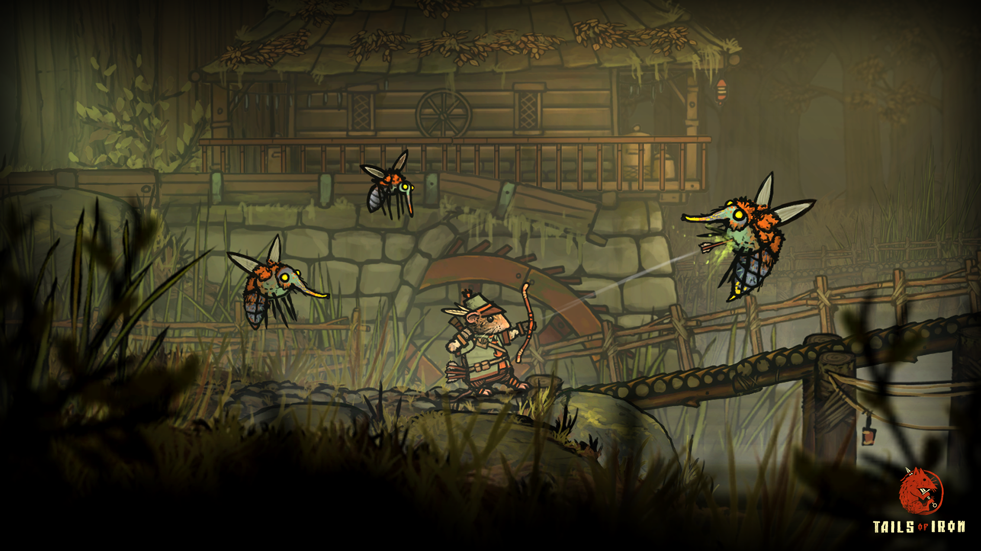 Tails of Iron is an Adventure RPG-lite game set in a charming and brutal world