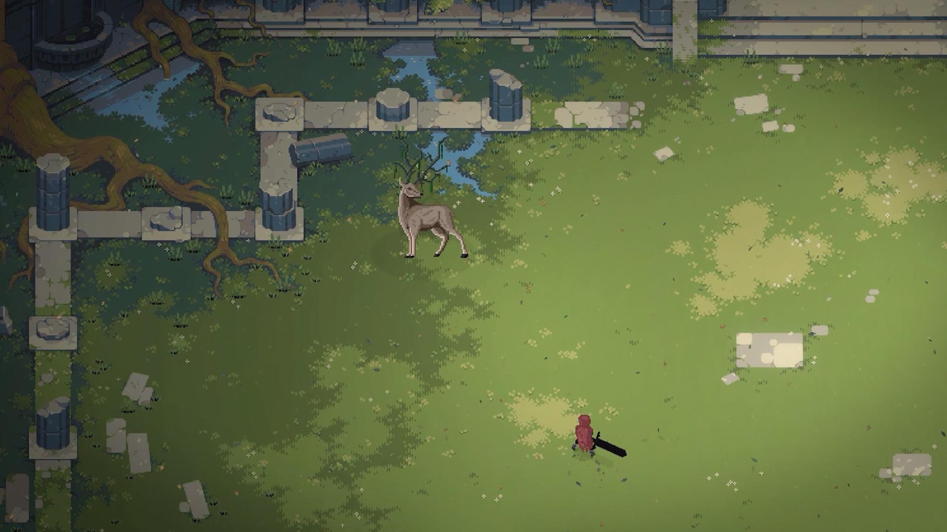 Eldest Souls is a challenging, pixel-art boss-rush game